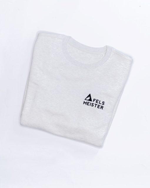 Sweatshirt hellgrau